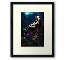 Vampire Mermaid Framed Print
