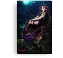 Vampire Mermaid Canvas Print