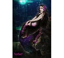 Vampire Mermaid Photographic Print