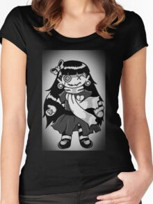 Rag Doll Fade Women's Fitted Scoop T-Shirt