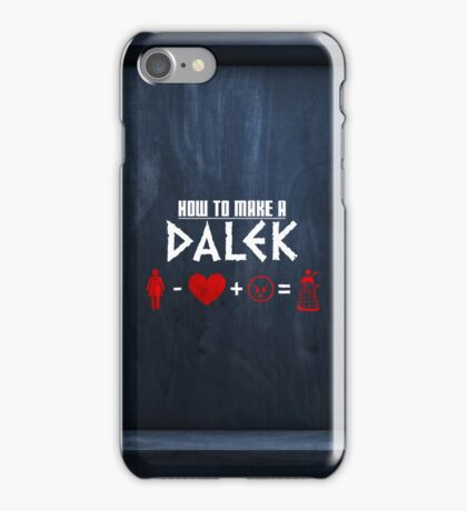 How to Make a Dalek (variant 3) iPhone Case/Skin