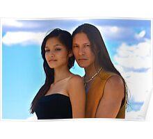 Rick Mora & Taywanee Reevis Poster