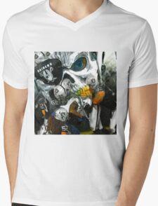 Eye Patch Raider Nation Mens V-Neck T-Shirt