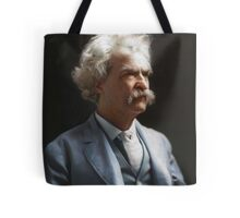 Colorized  - Mark Twain / Samuel L Clemens Tote Bag