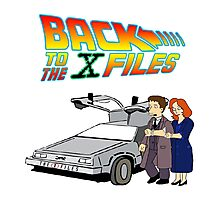 Back to the X-Files Photographic Print