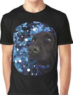 Starry-Eyed Dog Named Izzy Graphic T-Shirt