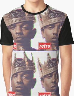 Kendrick Lamar - Retro  Graphic T-Shirt