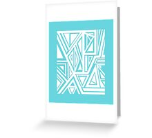Geo Rectangle Greeting Card