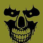 Skull in anger (black) by   Mindwork   Kostas Barbadimos  