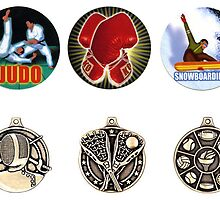 Color Inserts & Medals by edwin rivera
