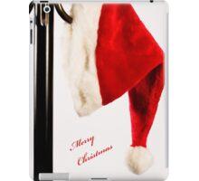 Merry Christmas Santa Hat iPad Case/Skin