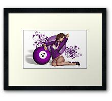 Poolgames 2015 - The No. 4 Framed Print