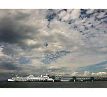 Edmonds Ferry Dock, Washington State Photographic Print