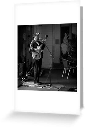 The Market Guitarist by Ben Loveday