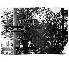 Elizabeth Street Poster