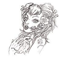 Zombie  Heart by kendlesixx