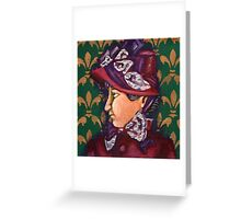 Victorian Lady 1 Greeting Card