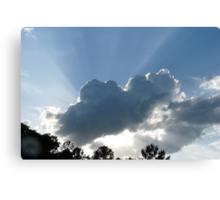 Reddick Clouds Canvas Print