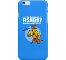 The uncredible Fish Boy and Flying Eel iPhone Case/Skin