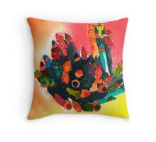 Always Color Outside the Lines Throw Pillow