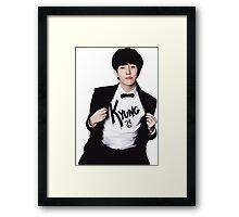 Block B - Kyung Framed Print