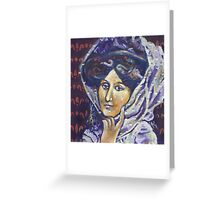 Victorian Lady 2 Greeting Card