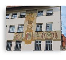 Mural, Nuremberg, Germany Canvas Print