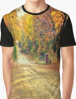 Color Book Road  Graphic T-Shirt
