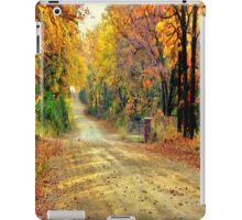 Color Book Road  iPad Case/Skin