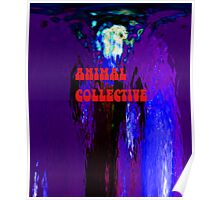 Original Animal Collective Poster