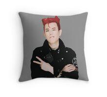 Block B - P.O Throw Pillow