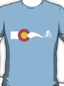 Colorado Flag Cyclist T-Shirt