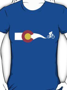 Colorado Flag Cyclist T-Shirt