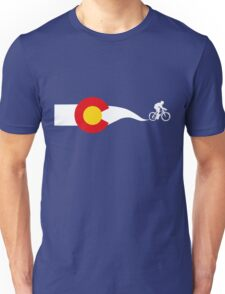 Colorado Flag Cyclist Unisex T-Shirt