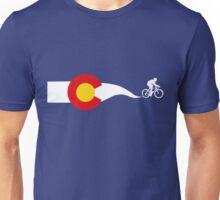 Colorado Flag Cyclist Unisex T-Shirt
