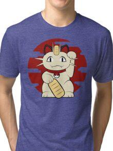 Lucky Meowth Tri-blend T-Shirt