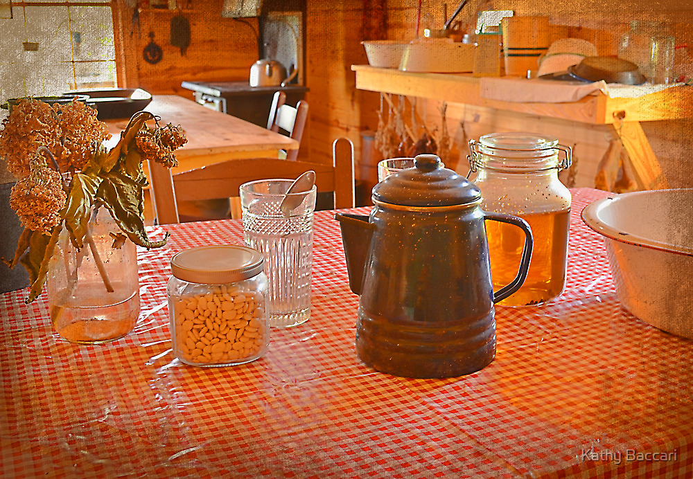 Fresh Honey On The Table by Kathy Baccari