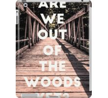 Taylor Out Of The Woods iPad Case/Skin