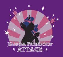 Magical Friendship Attack. T-Shirt