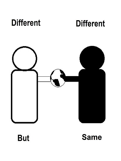 Different Different But Same by lightworker