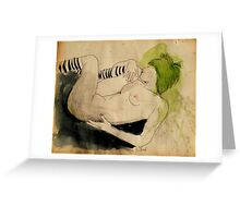 wither away Greeting Card