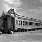 The Old Forgotten Train by Kathy Baccari