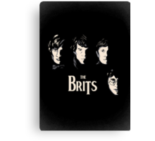 The Brits Canvas Print