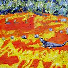 Outback Lizard by gillsart