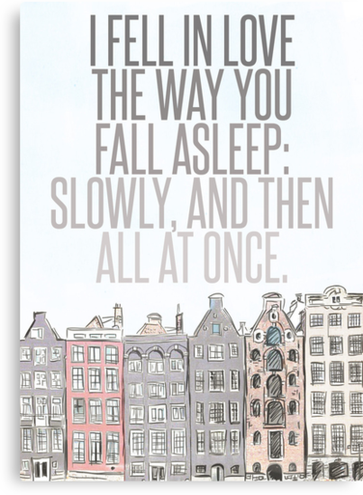 The Way You Fall Asleep by six-fiftyeight