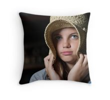 Kortnie in the Country Throw Pillow