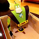 Paper Robot Captain Qwark - &quot;Craftain Qwark&quot; by Sam Novak
