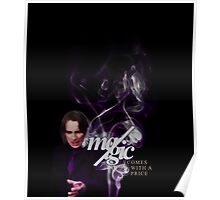 The cost of magic. Poster
