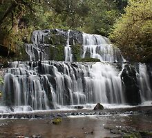 Punakaiki Falls  by Jon Charles
