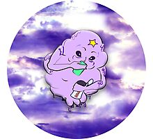 Meanwhile in Lumpy Space Photographic Print